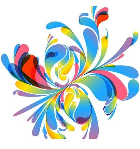colorful floral design background illustrator vector abstract vector colorful floral design illustration free