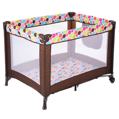 Baby Crib Playpen Baby Crib Bassinet Travel Portable Bed Playpen Infant