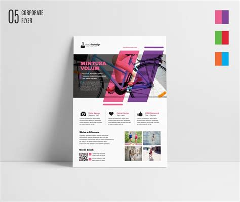 free indesign flyer templates free indesign bundle 10 corporate flyer templates stockindesign