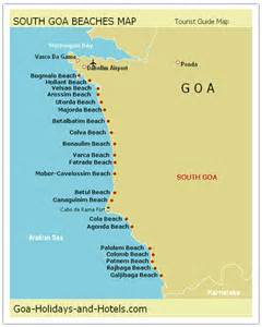 south goa map with names
