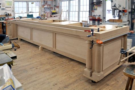 big kitchen islands a big kitchen island by dan mosheim lumberjocks com