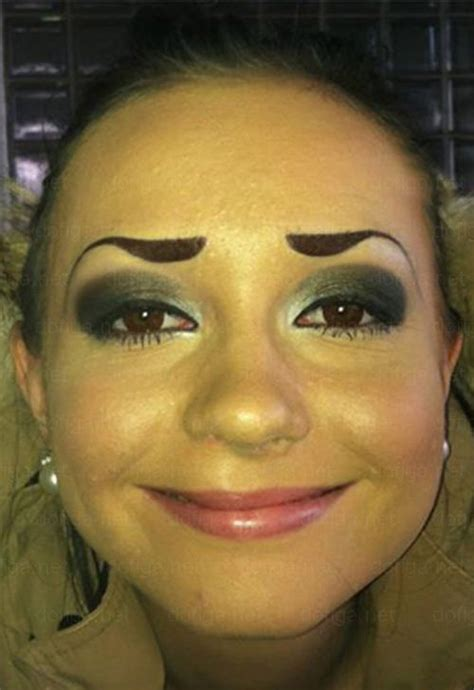 Fake Eyebrows Meme - the worst eyebrows vol ii 23 more fashion disasters