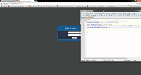 tutorial video for php tutorial php sesiones login con conexi 243 n a base de