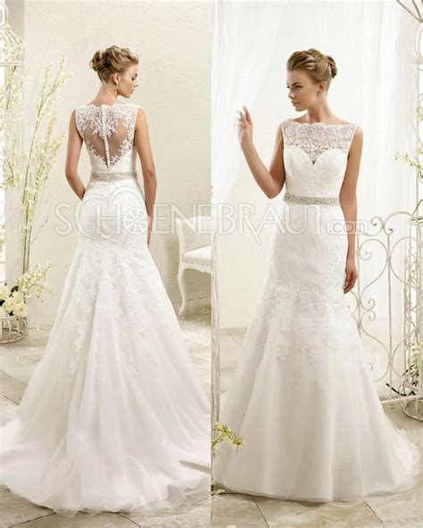 Spitzen Hochzeitskleid by Meerjungfrau 196 Rmelos Hochzeitskleider Mit Spitze Lace
