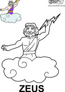 free coloring pages of zeus pages