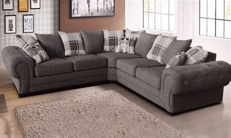 Sofa L Oscar Free Ongkir chesterfield corner sofa fabric mjob