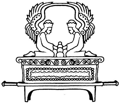 free coloring pages of david and the ark of the covenant