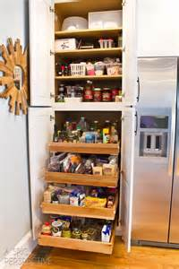 roll out pantry shelves kitchen makeover day 2 my cabinetry a spicy perspective