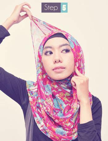 Jilbab Elpira Sifon cara memakai jilbab praktis dengan pashmina sifon
