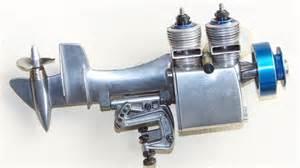 rc nitro motors 2 cylinder nitro rc outboard vintage glow engine