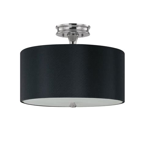 flush mount drum light semi flush drum chandelier top drum fabric shade semi