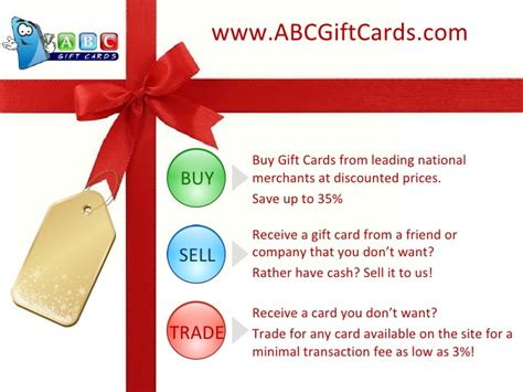Abc Gift Card Coupon - abc gift cards discount gift cards