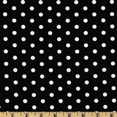 dot pattern fabric oilcloth polka dot white black discount designer fabric