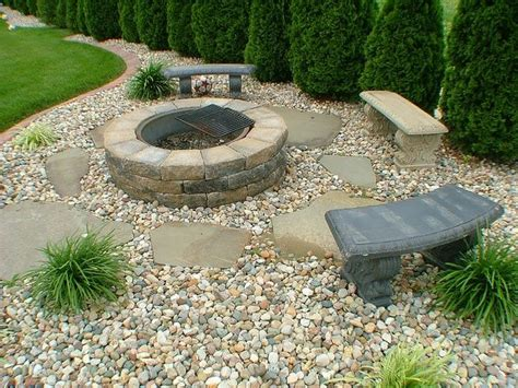 landscaping pit landscaping rocks pit ideas chairs