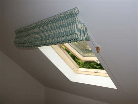 Blinds For Ceiling Windows by Blinds For Sloping Ceilings Moghul Interiors