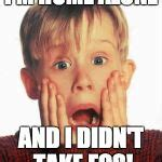 home alone kid meme generator imgflip