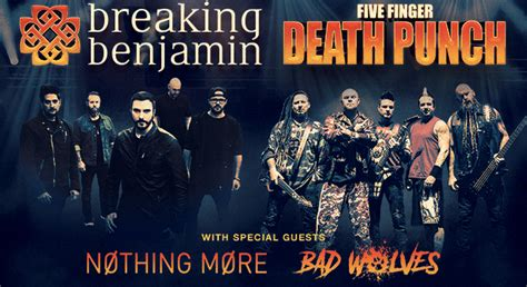 five finger death punch breaking benjamin the xfinity center august 18 five finger death punch and breaking benjamin 313 presents