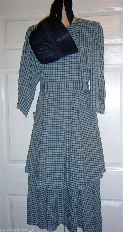 pattern for amish apron amish mennonite handmade pioneer prairie dress apron