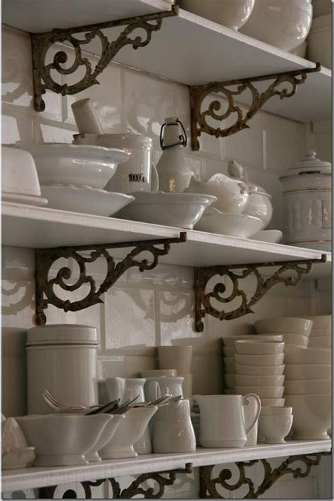 country style shelves modern country style country kitchen rule three open