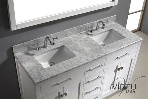 bathroom vanity top replacement faucet com m60 ctsq wm aa in white by virtu usa