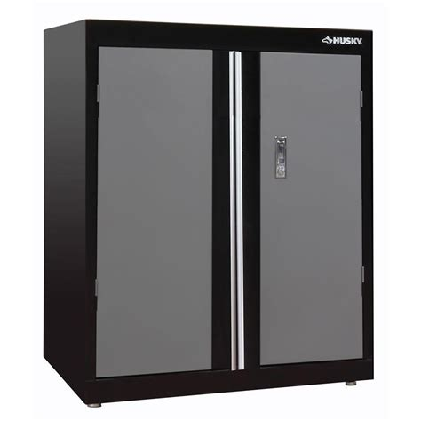 Husky 32 Steel Cabinet by Husky 36 In H X 30 In W X 18 In D Deluxe Steel Garage