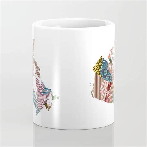 cool mugs canada canada map cute ceramic mug made in canada canada art