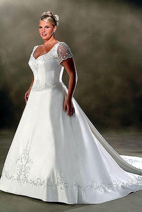 Full figured wedding gowns