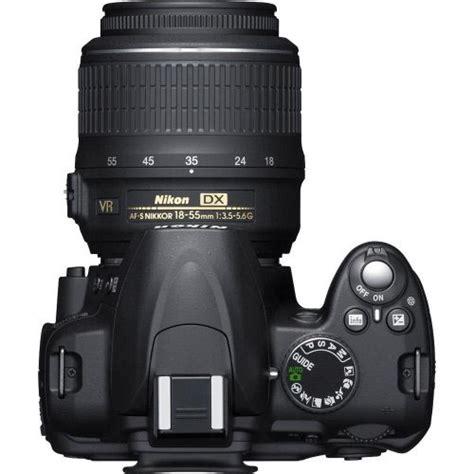 Raket Slr Player 79 nikon d3000 10 2mp digital slr with 18 55mm f 3 5 5 6g af s dx vr nikkor zoom lens