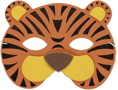 How To Make A Tiger Mask Out Of Paper - gallery for gt tiger mask printable feathers