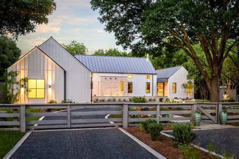 modern farmhouse exterior farmhouse with gravel driveway modern gravel driveway exterior contemporary with beige