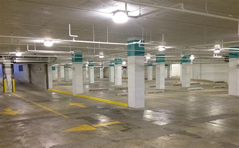 Parking Garage Lighting Standards by Lumecon Lc Lg Soffit Mount