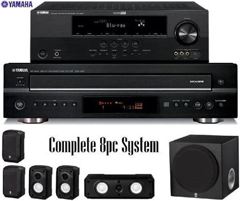 yamaha rx v465bl 525 watt 5 1 channel home theater