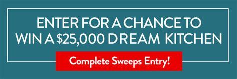 Cooking Light Sweepstakes - cooking light diet 25 000 dream kitchen rules cooking light