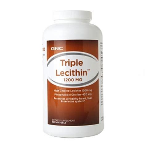 Sale Lecithin Softgel Wootekh Member Gnc Lecithin 1200mg Drugstore