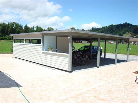 autounterstand schweiz carport autounterstand garage aus holz baumberger bau ag