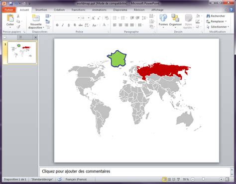 Free Download World Map For Powerpoint Presentation Editable World Map Powerpoint