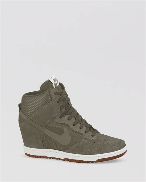 nike high cut wedge sneakers traffic school