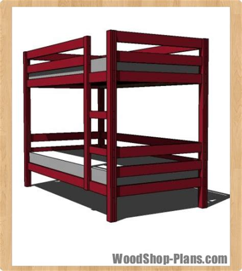 bunk bed woodworking plans bunk bed woodworking plans woodshop plans breeds picture