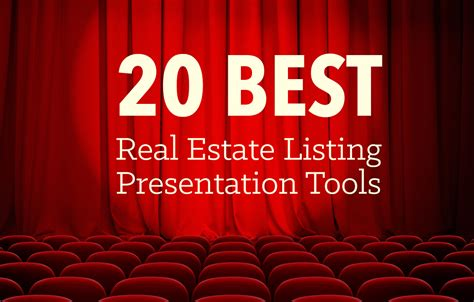 listing presentation template the best real estate listing presentation tools