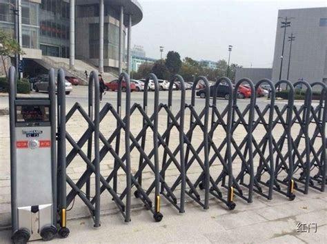 Sale Steel Rack For Automatic Gate Ct Steel security factory electric retractable gate stainless steel with wireless remote