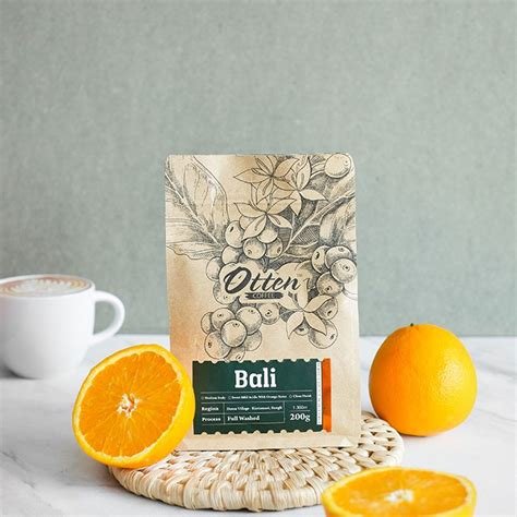 otten coffee arabica bali kintamani  biji bubuk kopi shopee indonesia