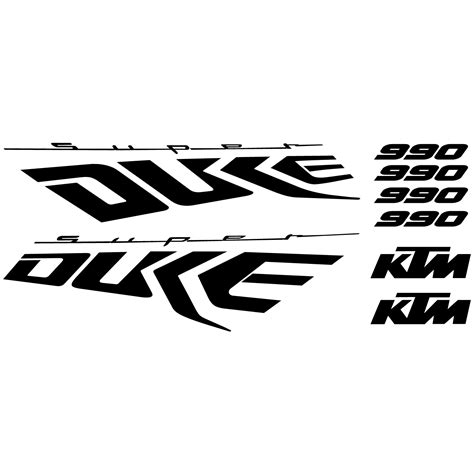 Ktm 990 Super Duke Aufkleber wandtattoos folies ktm 990 super duke aufkleber set