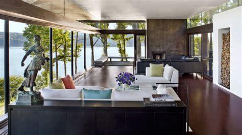 modern house  hudson river views  rhinebeck  york architectural digest