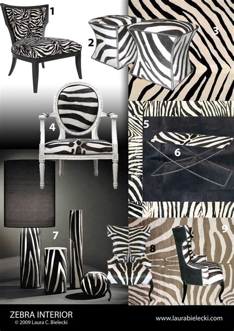 Zebra Home Decor | zebra room decorating ideas
