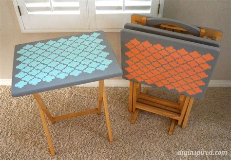 Home Design Decor Websites tv tray table upcycle diy inspired