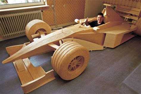 How To Make A F1 Car Out Of Paper - formula one car created out of matchsticks metro news
