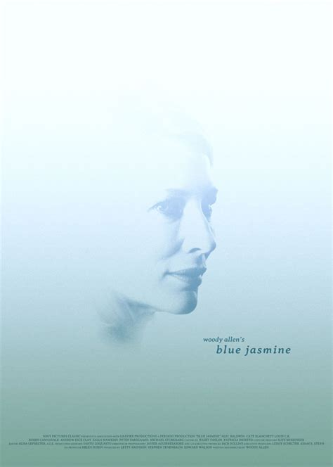 blue jasmine alternative movie poster for blue jasmine by arden avett