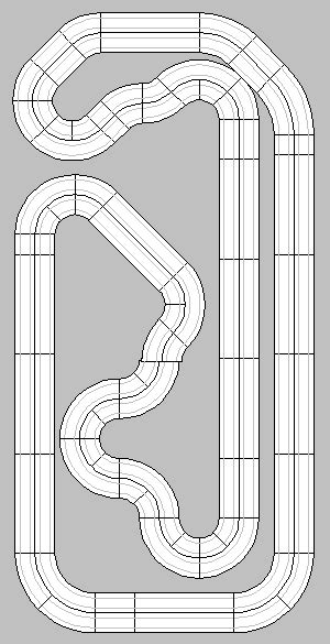 ho slot car layout design software ho slot car racing ho slot car track layouts 2 and 4