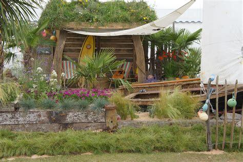 Seaside Gardens by Pit Barefoot Brown Firepit Patio Garden