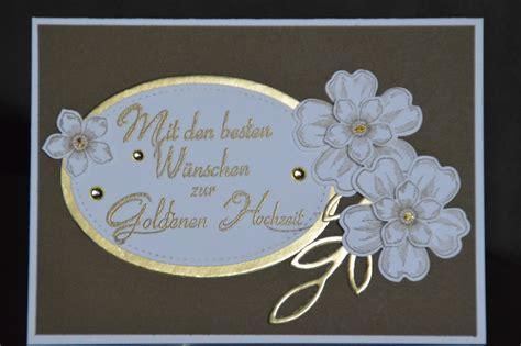 Goldene Hochzeit Karte by Karte Zur Goldenen Hochzeit Anjas Stempelwelt